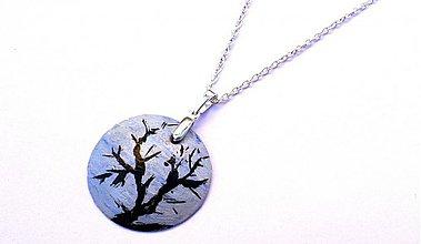 Náhrdelníky - Vyschnutý strom - 3834636_