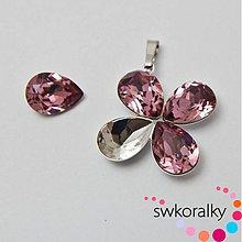Komponenty - Přívěsky na SLZU kámen 14 SWAROVSKI ® ELEMENTS - 3836945_