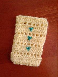Na mobil - obal na mobil s korálkami - 3844018_