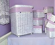 Košíky - Kúpeľňový set ANJELA - 3842994_