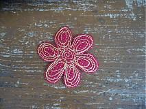 Materiál ručne robený - daisy- véééľa farieb - 3849067_