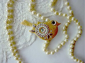 Náhrdelníky - LittleJewels - náhrdelník Gollda - 3847645_