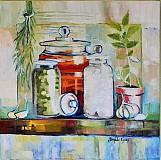 Obrazy - V kuchyni - 3847770_