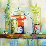 Obrazy - V kuchyni - 3847772_