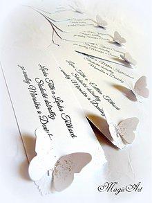 Papiernictvo - Kartičky na svadobné výslužky - 3858427_