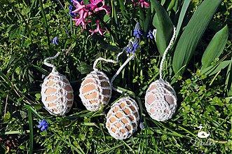 Dekorácie - Sada Veľkonočných vajíčok - 3856455_