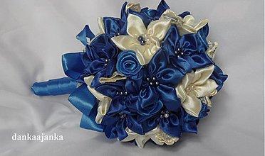 Kytice pre nevestu - Kráľovská modrá - 3855841_