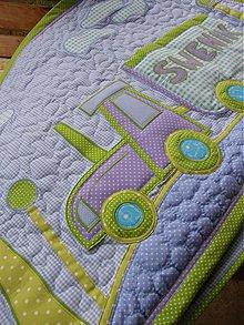 Úžitkový textil - Traktor 2...zástena :) - 3858417_
