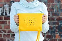 - Malá se žlutými kroužky - tyrkysovo-žlutá - 3864671_
