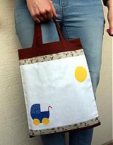 Taštičky - Detská taška aj na dokreslenie - 3865081_