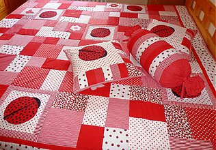 Úžitkový textil - lienkovanie - 3864930_