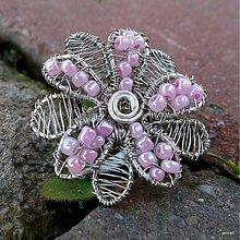 Prstene - Ružový prsteň - 3862631_