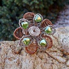 Prstene - Srdiečkový prsteň - 3862939_
