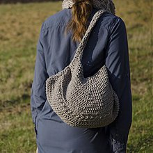 Kabelky - taška nazbieraná - 3864697_