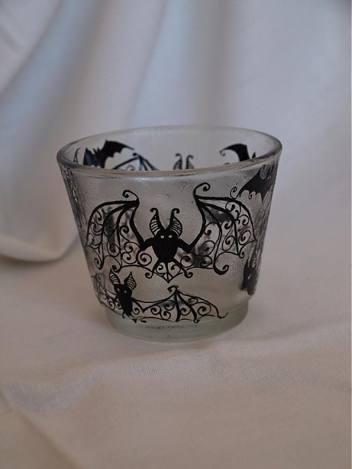 Svietnik na čajovú sviečku - Bats Ornaments