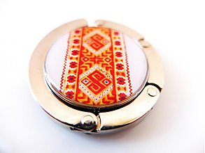 Pomôcky - Háčik na kabelku Cyprián - 3863169_