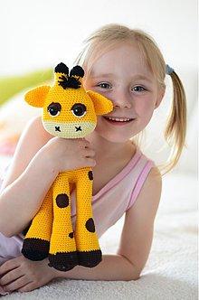 Hračky - Háčkovaná žirafa - 3863722_