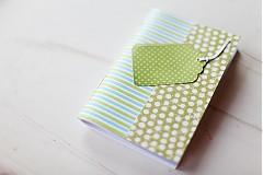 Papiernictvo - S pásikmi aj bodkami - 3868257_