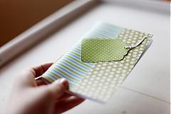 Papiernictvo - S pásikmi aj bodkami - 3868263_