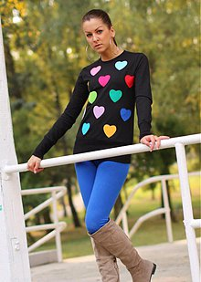 Mikiny - COLOR HEARTS - 3867122_
