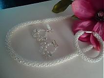 """Sady šperkov - Sada """"SNOWFLAKE"""" - 3867310_"""