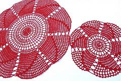 Úžitkový textil - Háčkované dečky - 3870034_