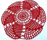Úžitkový textil - Háčkované dečky - 3870051_
