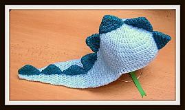 Detské čiapky - Drak - 3872275_