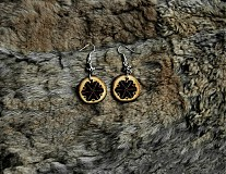 Náušnice - Perúnov symbol hromu.. - 3871396_