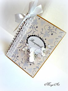 Papiernictvo - Svadobné babičkine dobrotky... - 3871694_