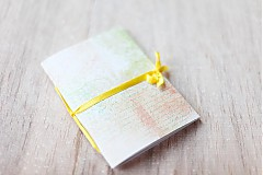 Papiernictvo - Žltý na zaviazanie - 3875673_