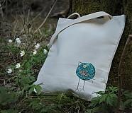 Veľké tašky - Vtáčik - 3878304_