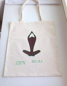 Nákupné tašky - taška Zen - 3879833_
