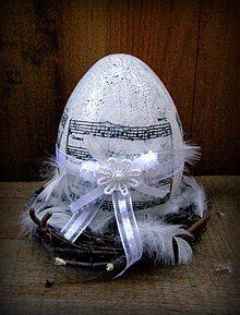 Dekorácie - vajíčko zaspievajme... - 3881848_