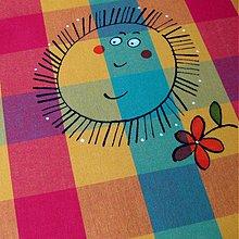Úžitkový textil - JE JARO !!! - ubrus 140x140 cm - 3883789_