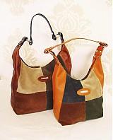 - Kožená kabelka Leanka