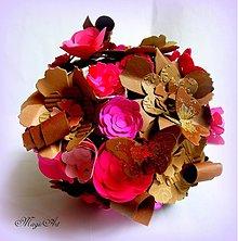 Kytice pre nevestu - Rozkvitnutá čokoláda... - 3884596_