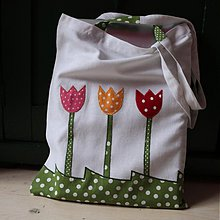 Nákupné tašky - Jarná taška - 3885304_