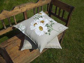 Úžitkový textil - Ľanová obliečka Marguerite - 3883401_