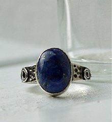 Prstene - Lapis Lazuli prsten - 3887346_