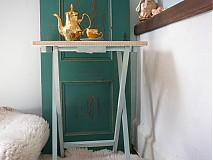 Nábytok - Skladaci stolík DOBRÉ RÁNO - 3888050_