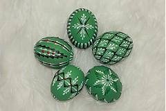 Dekorácie - Kraslice zelené - 3888203_