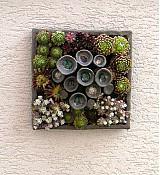 Socha - kvetináč ako obraz - 3886573_