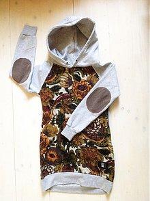 Mikiny - sweatshirt oldschool flowers - 3892952_