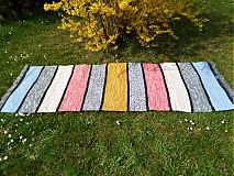 Úžitkový textil - Ako na chalupu 210x73cm - 3892890_