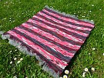 Úžitkový textil - Ružovo-hnedá predložka 72x74cm - 3892966_