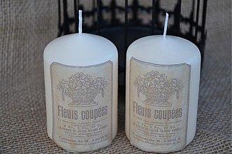 Svietidlá a sviečky - Sviečka a la France - 3897406_