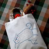 Nákupné tašky - PUNTÍKATÁ - nákupní taška - 3896747_