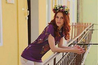 Topy - Vidiečan-fialový top - 3897834_