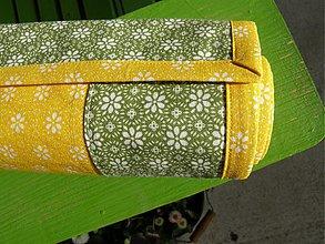 Úžitkový textil - Obrus...tráva a slnko :) - 3898330_